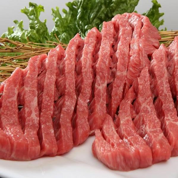 松阪牛のモモ肉ダイヤモンドカット