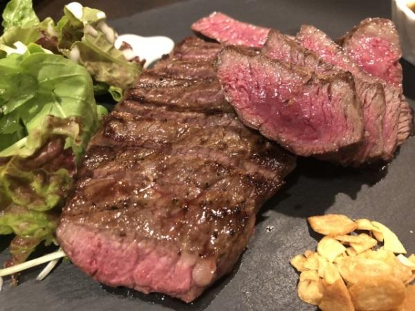 松坂牛のコモモステーキ