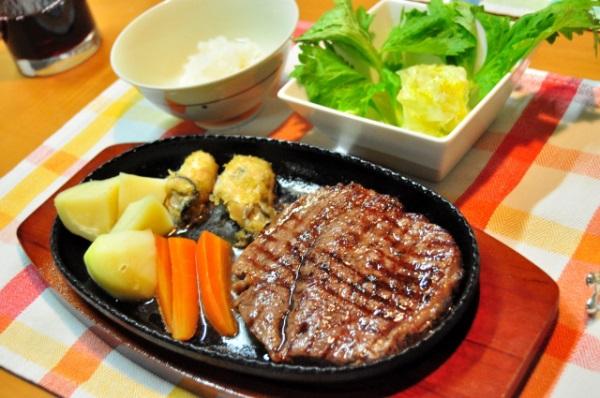 松阪牛の芯芯ステーキ