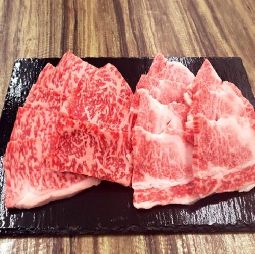 カルビ・ロース焼肉セット