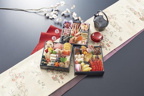 京都東山の料亭道楽のおせち清新